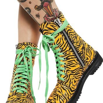 Eye Of The Tiger | COMBAT BOOTS [PREORDER]
