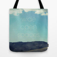 Wide Open Spaces Tote Bag by Shawn King