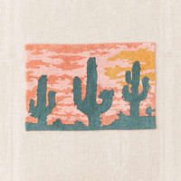 Desert Sunset Bath Mat | Urban Outfitters