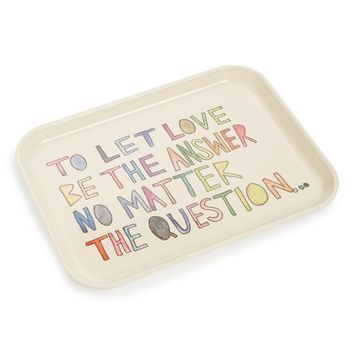 Fishs Eddy Let Love be the Answer Tray | Nordstrom