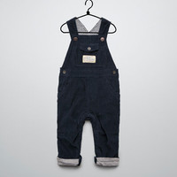 lined needlecord dungarees - Trousers - Baby boy (3-36 months) - Kids - ZARA United States