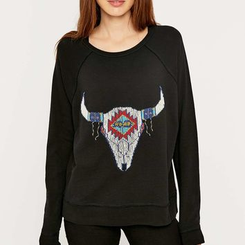 Denim & Supply Ralph Lauren Steer Head Sweater - Urban Outfitters