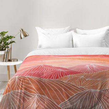 Viviana Gonzalez Lines in the mountains V Comforter | DENY Designs Home Accessories