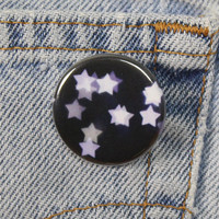 Starry Night Sky 1.25 Inch Pin Back Button Badge