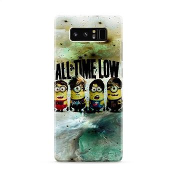 All Time Low Minion Drawing Samsung Galaxy Note 8 Case