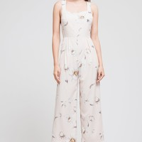 OPEN BACK SLEEVELESS JUMPSUIT