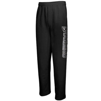 Oakland Raiders Youth Fleece Pant - Black - http://www.shareasale.com/m-pr.cfm?merchantID=7124&userID=1042934&productID=520960351 / Oakland Raiders