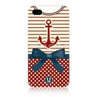 Amazon.com: Ecell - head case anchor nautical clothing protective back case for apple iphone 4 4s: Cell Phones & Accessories