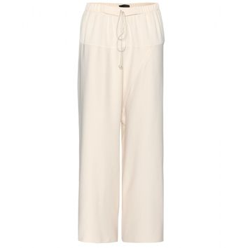 the row - nopraw cropped crepe trousers