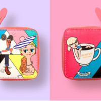 Gym and Coffee Zip Wallet