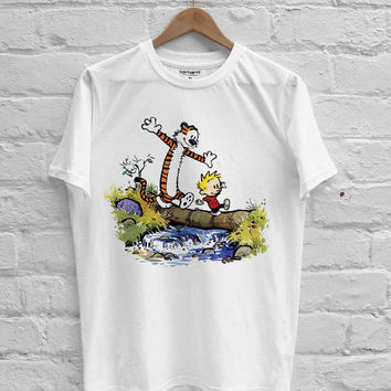 Calvin and Hobbes T-shirt Men, Women Youth and Toddler