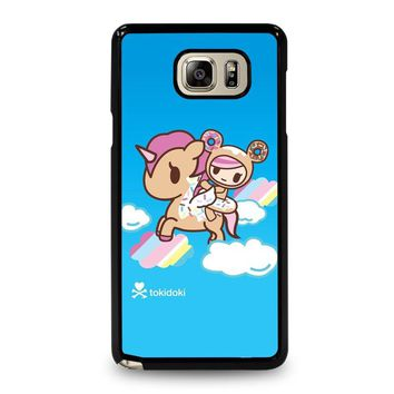 DONUTELLA UNICORNO TOKIDOKI Samsung Galaxy Note 5 Case Cover
