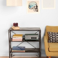 Metal Shelf Unit in Charcoal - Urban Outfitters