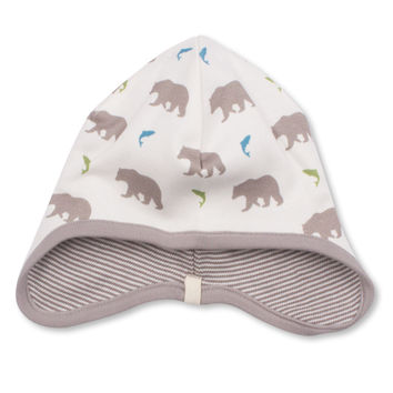 Bear Bonnet  - Organic Cotton