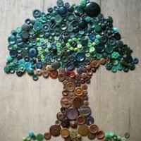 DIY button tree!