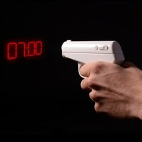 Thumbs Up! Secret Agent Alarm Clock