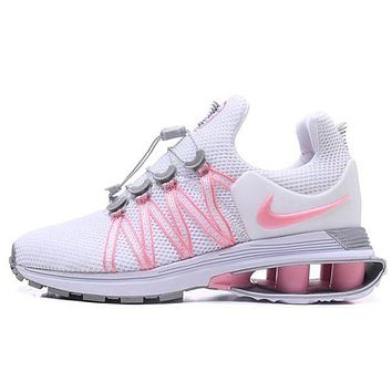 Nike Shox Gravity High Quality Fashion Woman Men Casual Running Sport Shoes Sneakers Pink