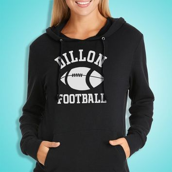 Dillon Panthers Football Friday Night Lights Women'S Hoodie