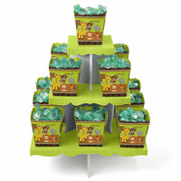 Baby Shower Candy and 13 Candy Boxes - Funfari - Fun Safari Jungle