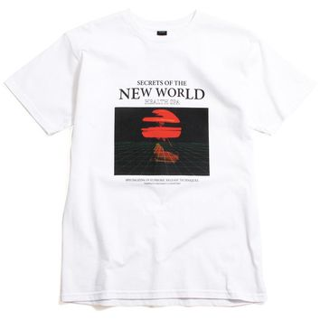 Secrets Of The New World T-Shirt White