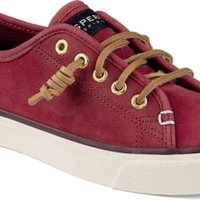 Sperry Top-Sider Seacoast Washable Sneaker Red, Size 6.5M  Women's Shoes