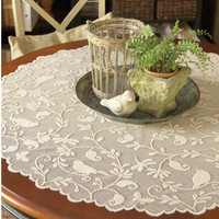 Bristol Garden Lace Table Topper