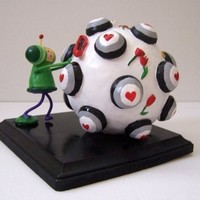 Miniature Katamari Prince by PoMoFauve on Etsy