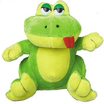 stuffed animal frogs Case of 36