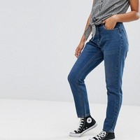 JDY High Waisted Mom Jeans at asos.com