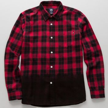 Stussy Dip Dye Plaid Shirt | SWGNT