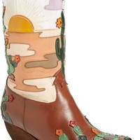 Jeffrey Campbell 'Succulent' Pointy Toe Western Boot (Women) | Nordstrom