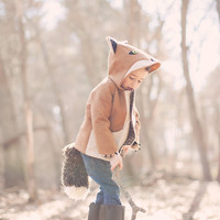 $150 Fantastic Little Fox Coat by littlegoodall on Etsy