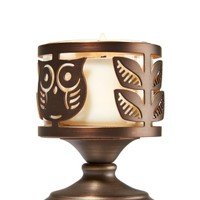 Mini Candle Sleeve Owl Pedestal