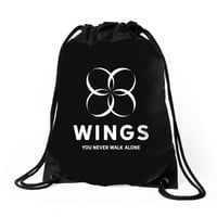 BTS Wings Drawstring Bags