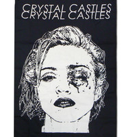 Crystal Castles Merchandise Store - Crystal Castles Black Eye Flag