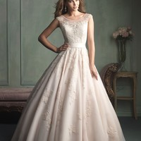 Allure Bridals 9114 Lace Ball Gown Wedding Dress