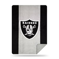 Oakland Raiders NFL Denali® Sliver Knit Throw