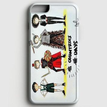 5 Second Of Summer 2X2 iPhone 6/6S Case