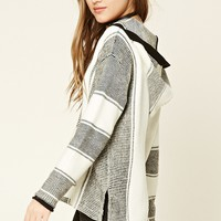 Contrast Striped Pullover