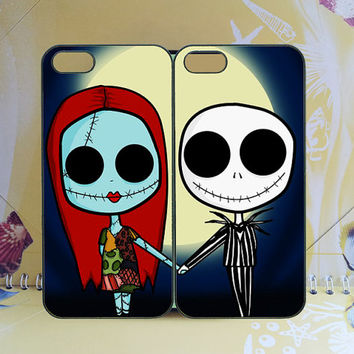 Sally and Jack Couple -iphone 5c case,iphone 5s case,Samsung S4 Active,samsung note2 case,Samsung S4 Case,ipod 5 case,any two can match