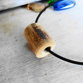 Twig Necklace Jewelry Wood Pendant Wooden Han