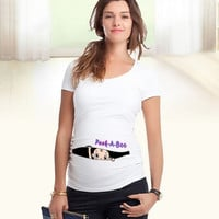 Pregnant Women Cotton T-shirt Large Size T-shirt Maternity Loose summer Tops = 1956698116