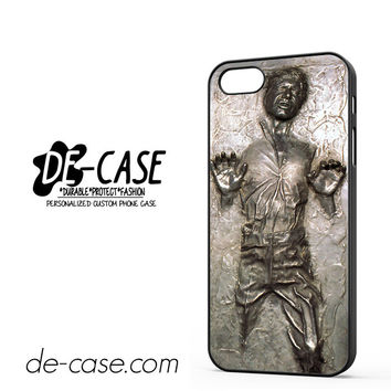 Star Wars Han Solo Frozen In Carbonite For Iphone 5 Iphone 5S Case Phone Case Gift Present