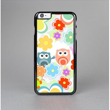 The Fun-Colored Cartoon Owls Skin-Sert for the Apple iPhone 6 Skin-Sert Case