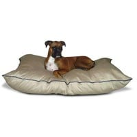 Medium size Dog Bed Pillow in Khaki - Made in USA