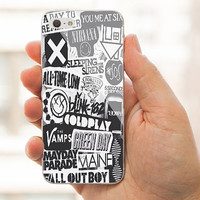 The xx, coldplay, arctic monkeys, the neighbourhood, sleeping with sirens ,The 1975 Band For iPhone case,Samsung Galaxy case.