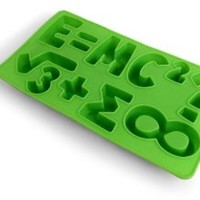 Kikkerland Cool Science Silicone Ice Cube Tray