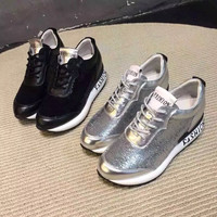 Comfort Hot Deal On Sale Hot Sale Casual Summer Stylish Alphabet Height Increase Shoes Sneakers [4920430660]