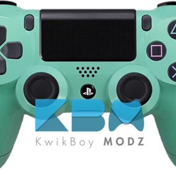 Tiffany Blue Custom PS4 Controller