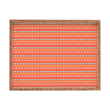 Allyson Johnson Native Aztec Rectangular Tray
